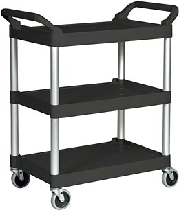 bus cart rubbermaid